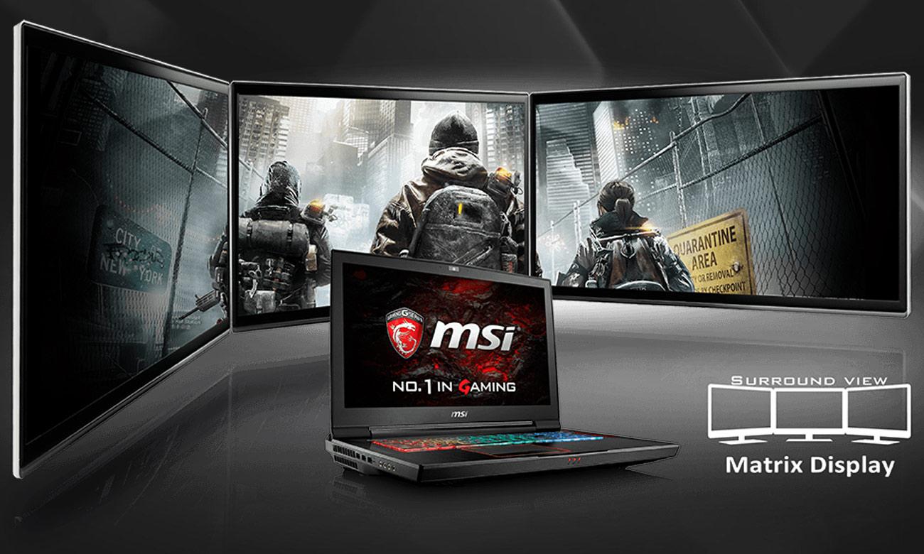MSI Titan GT75VR 7RE Matrix Display