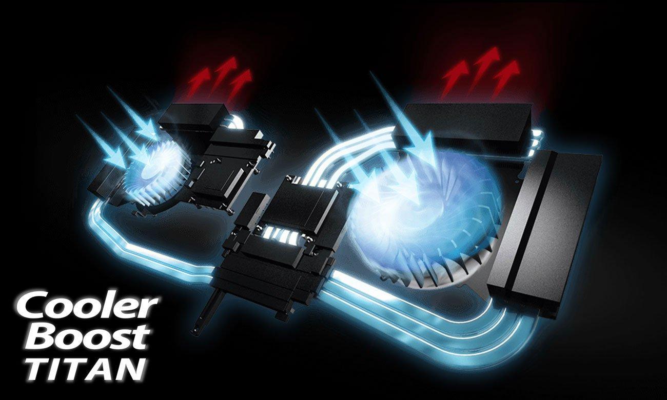 MSI Titan GT75VR 7RE Cooler Boost Titan