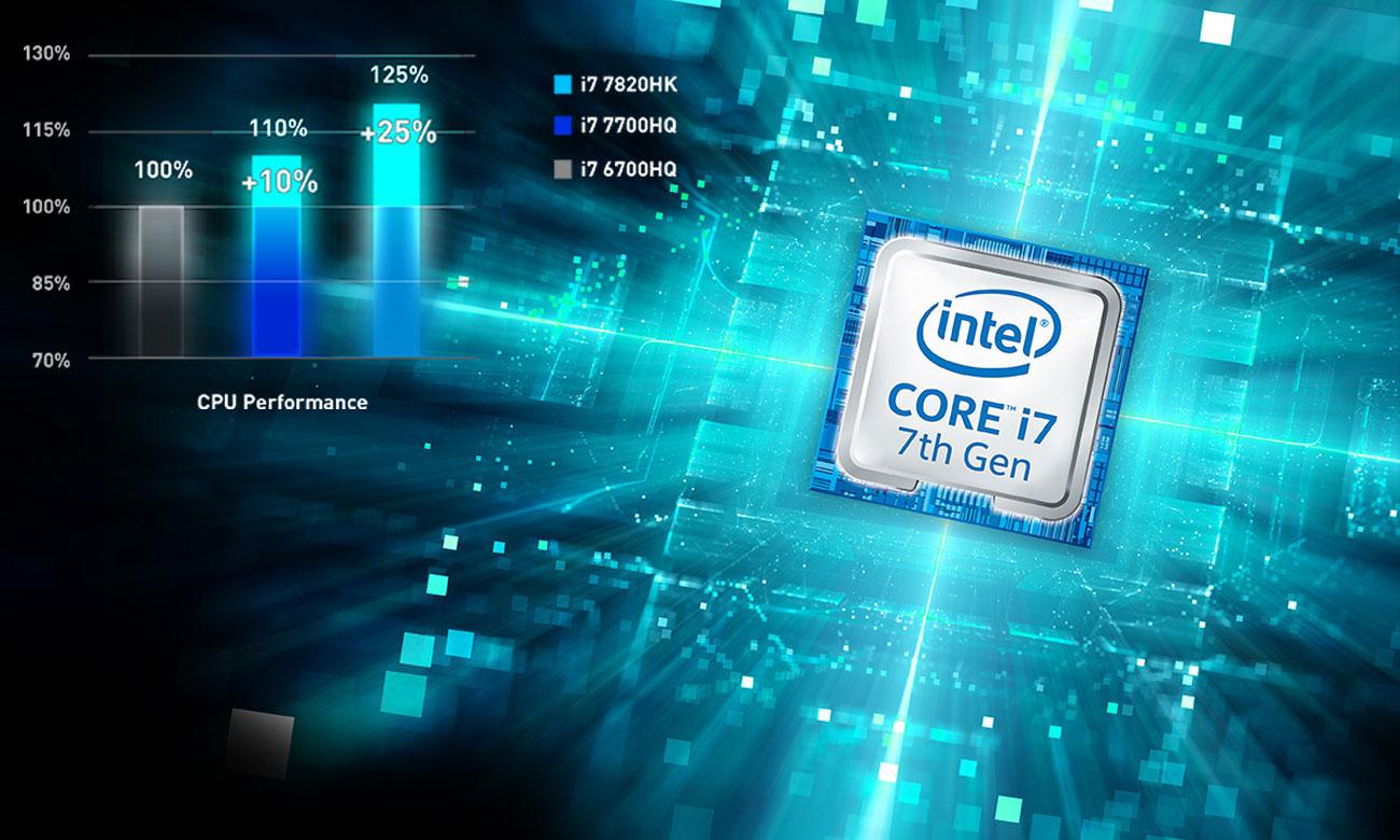MSI Titan GT75VR 7RE Intel Core i7-7820HK