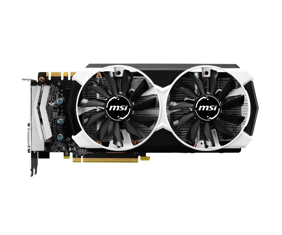 MSI GeForce GTX970 4096MB 256bit OC - góra