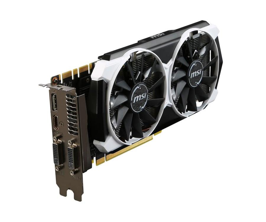 MSI GeForce GTX970 4096MB 256bit OC - wyjścia