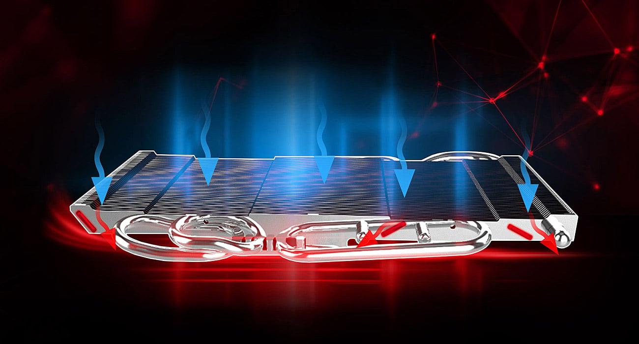 MSI GeForce GTX 1080 Ti GAMING X 11GB GDDR5X Radiator
