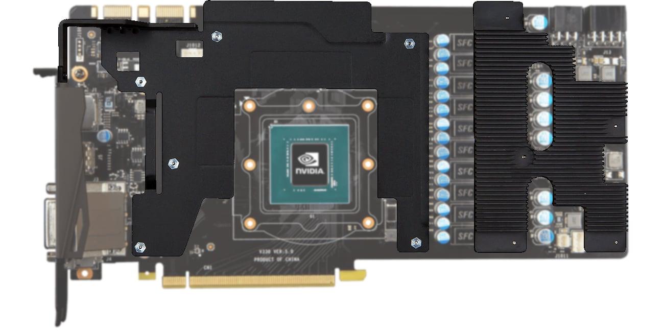 MSI GeForce GTX 1080 GAMING X+ 8GB Ramka systemu chodzenia
