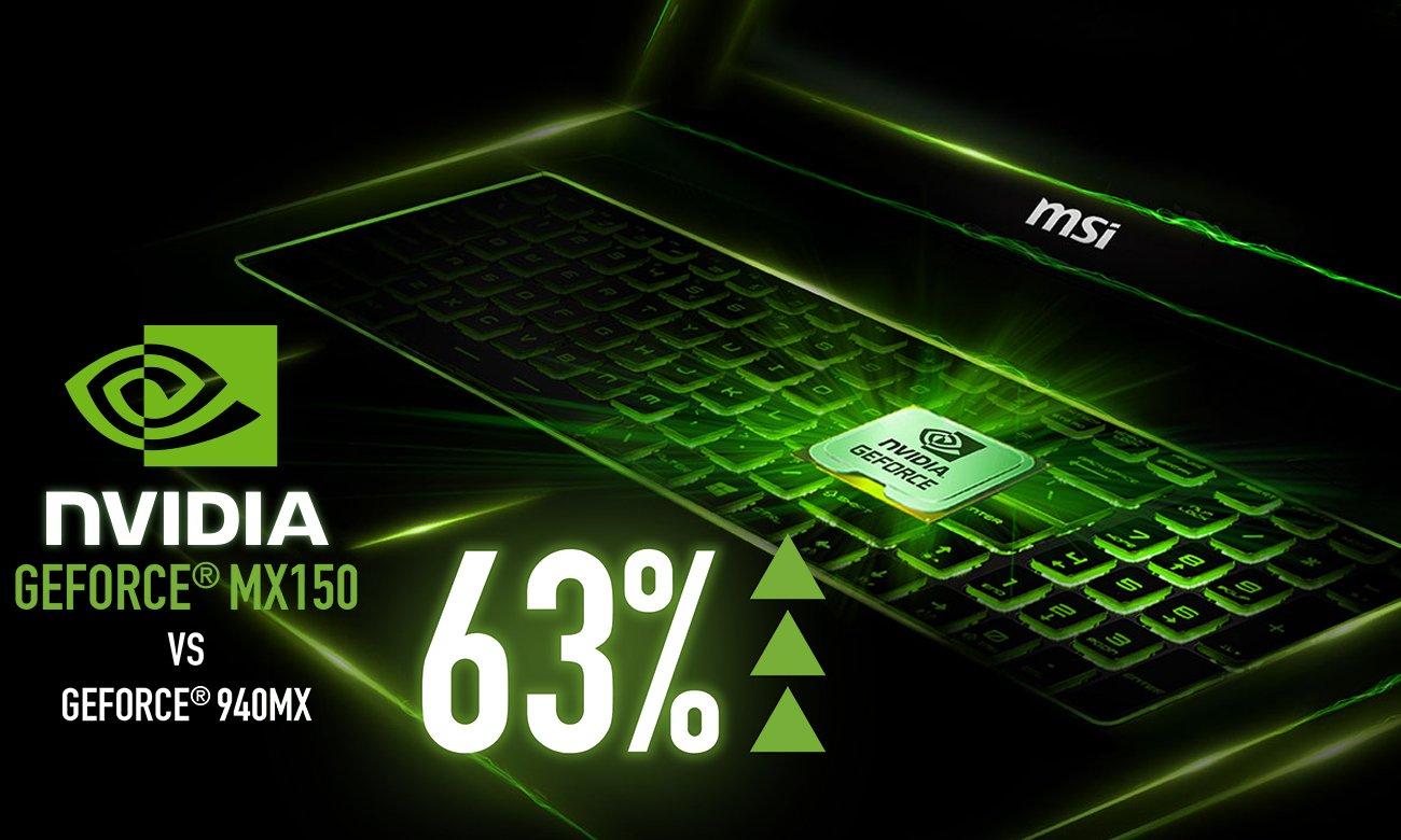 MSI GV62 7RC GeForce MX150