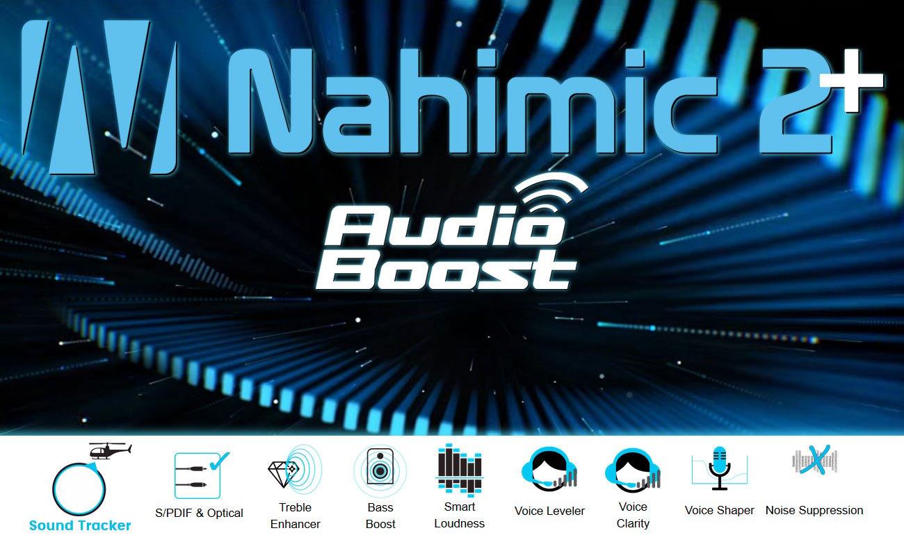 MSI GV62 7RC nahimic, audio boost