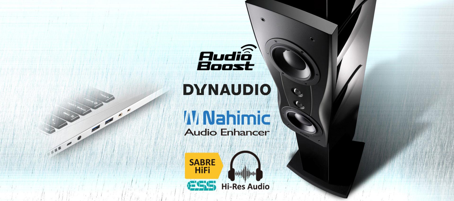 MSI PE60 6QD Nahimic, Dynaudio, Audio Boost