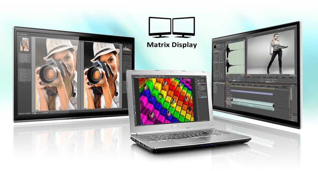 MSI PE70 7RD Matrix Display