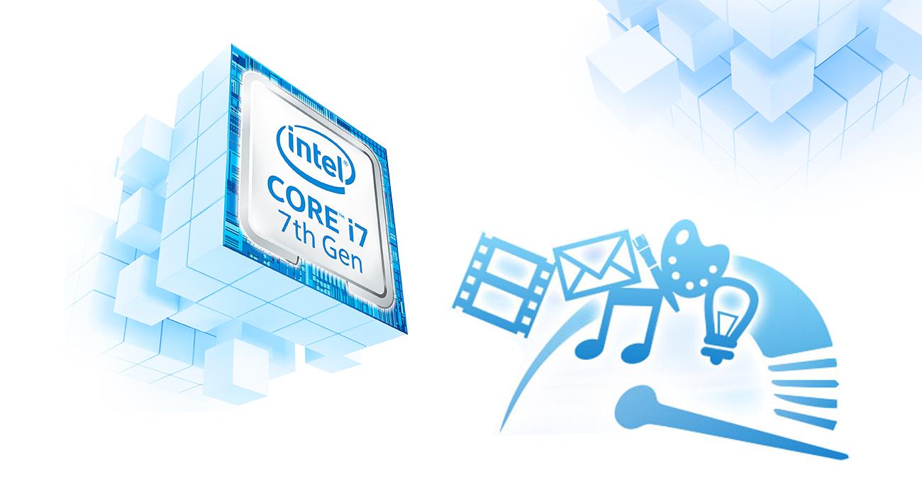 MSI PE72 7RD Intel i7-7700HQ
