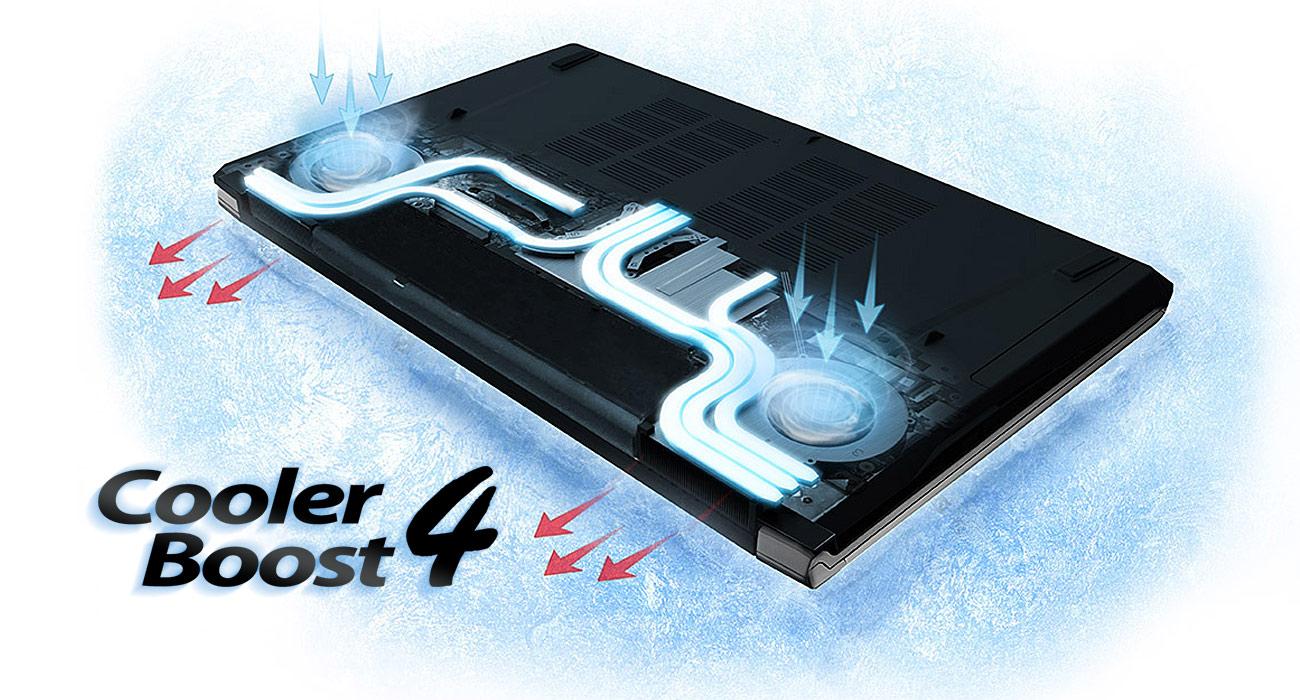 MSI PE72 7RD Cooler Boost 4