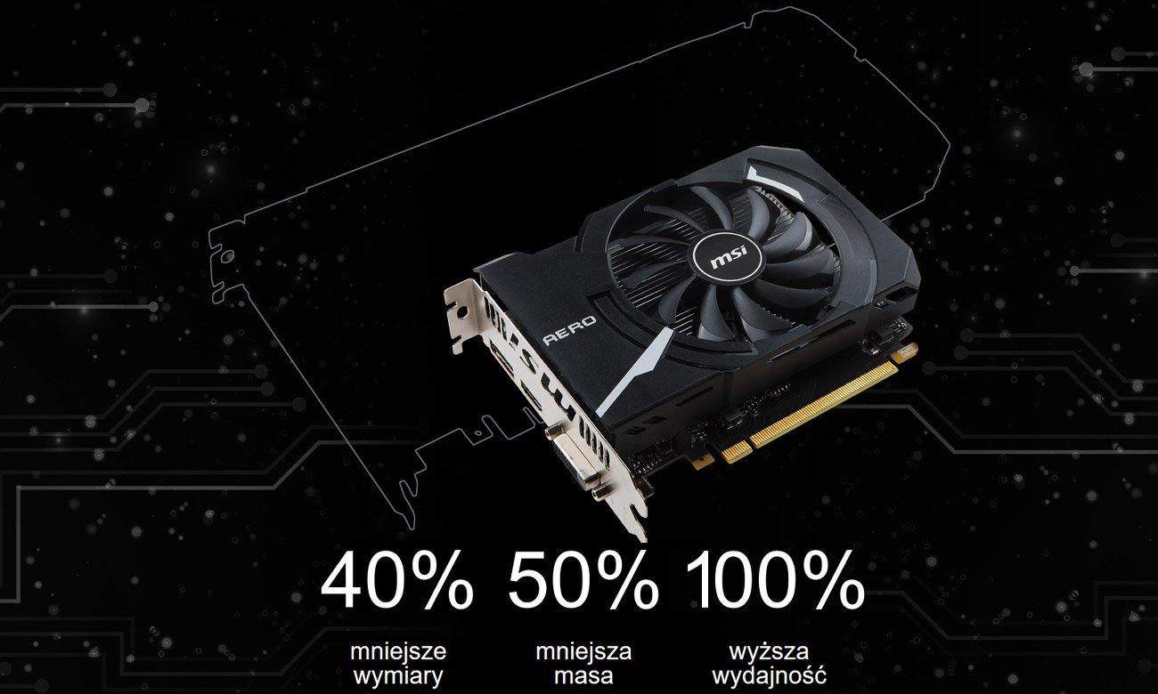 MSI Radeon RX 560 AERO ITX OC wielkie możliwości