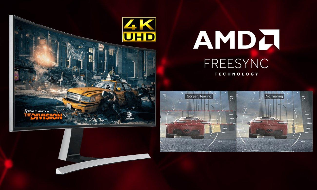 MSI Radeon RX 570 ARMOR OC 4GB GDDR5 AMD FreeSync oraz rozdzielczość 4K UHD