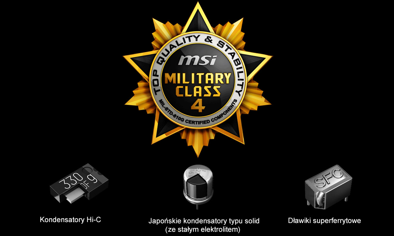 MSI Radeon RX 570 GAMING X 4GB GDDR5 Military Class 4