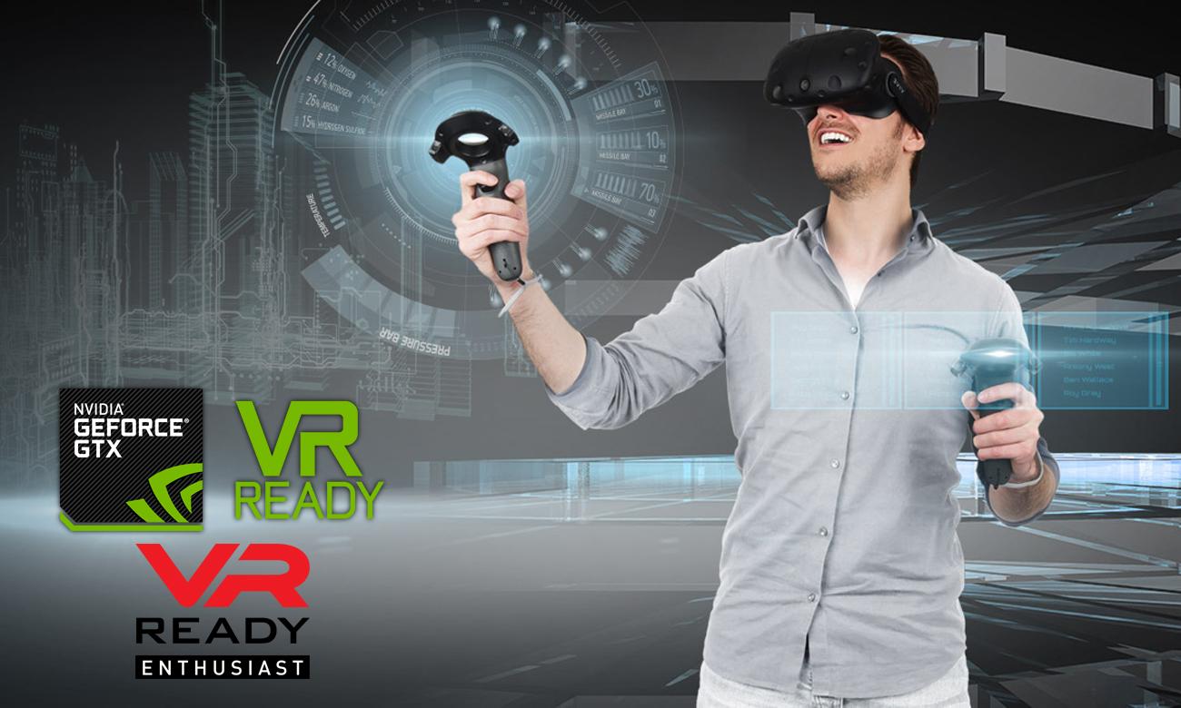 MSi GE63VR Raider Gamingowy sprzęt VR Ready firmy MSI