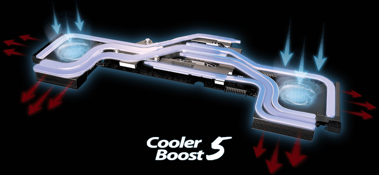 MSi GE63VR Raider MSI Cooler Boost 5