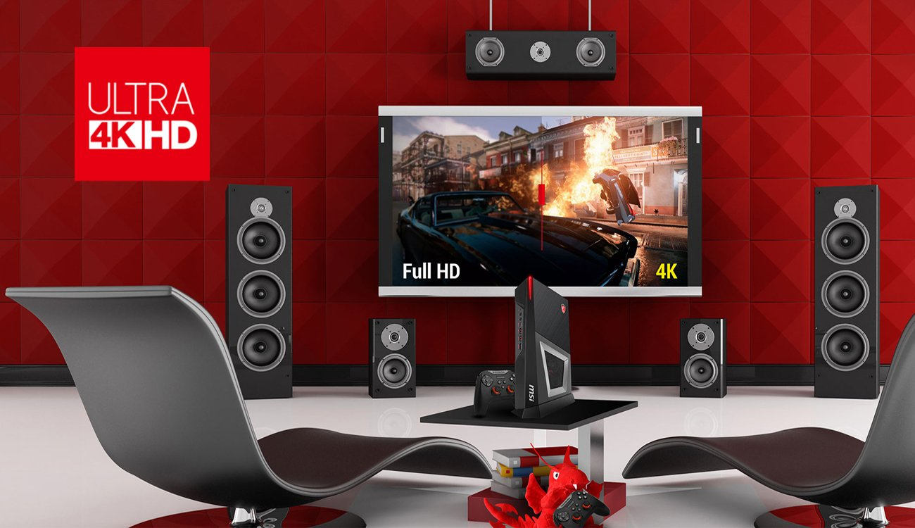 MSI Trident 3 obsługa ULTRA 4K HD