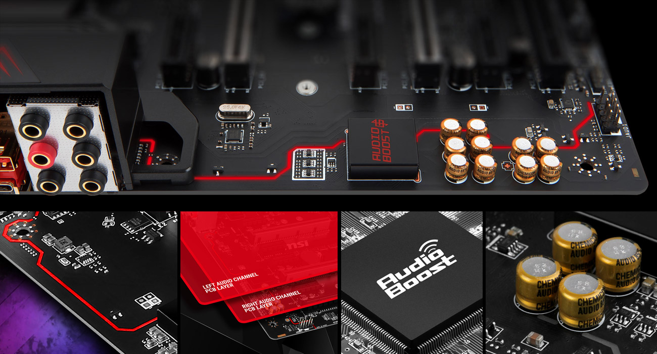 MSI X370 GAMING PRO Audio Boost