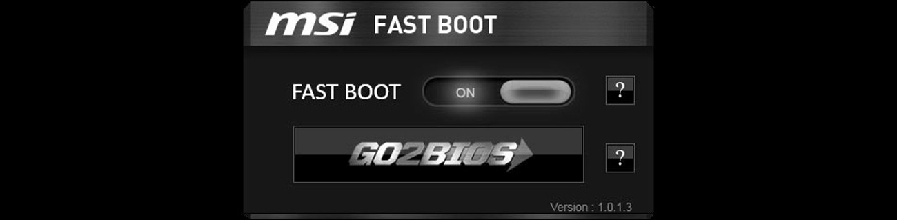 MSI X99A SLI KRAIT EDITION Fast Boot
