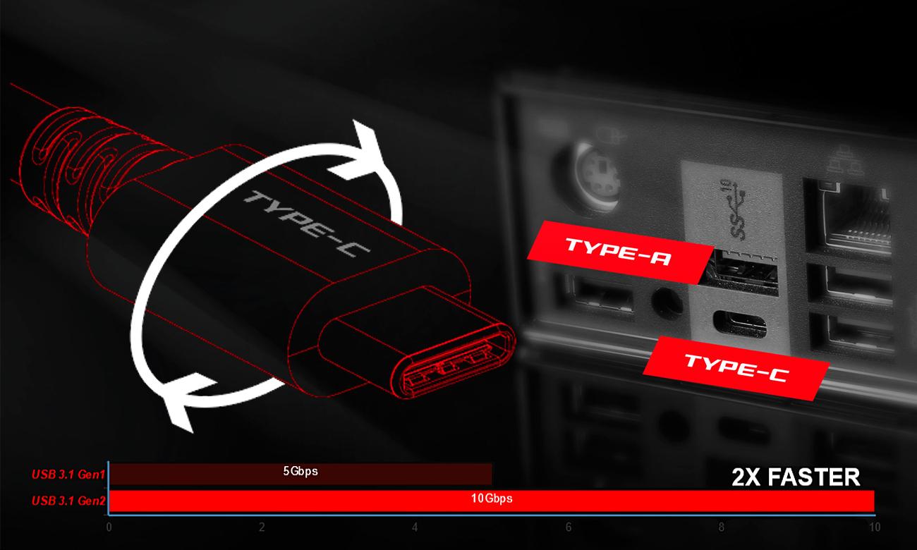 MSI X99A TOMAHAWK USB 3.1 GEN2
