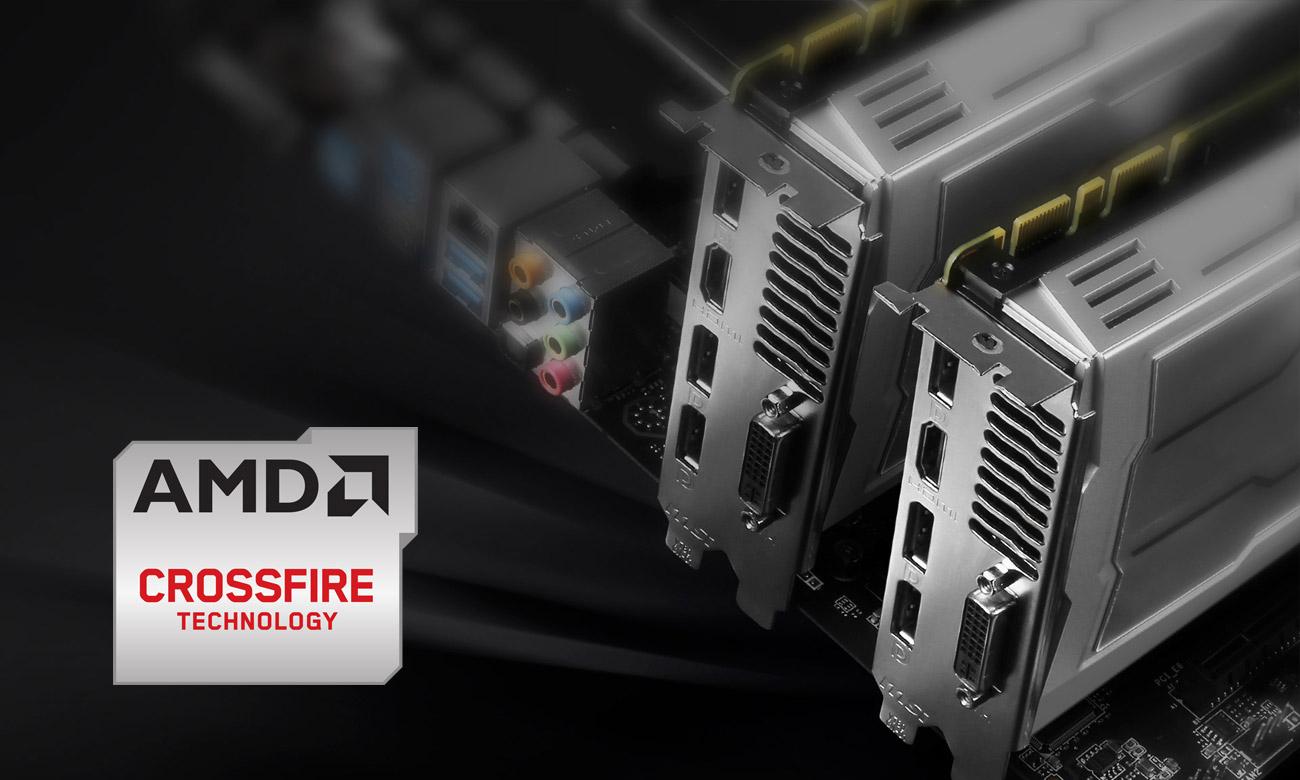 MSI Z170-A PRO Wsparcie CrossFire