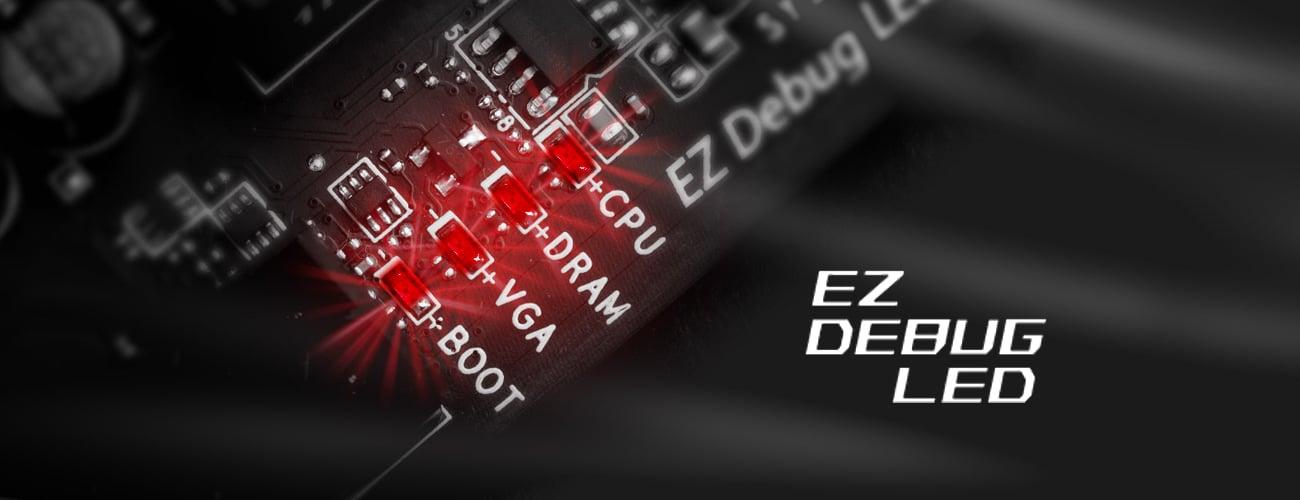 Z170A GAMING PRO CARBON EX Debug LED