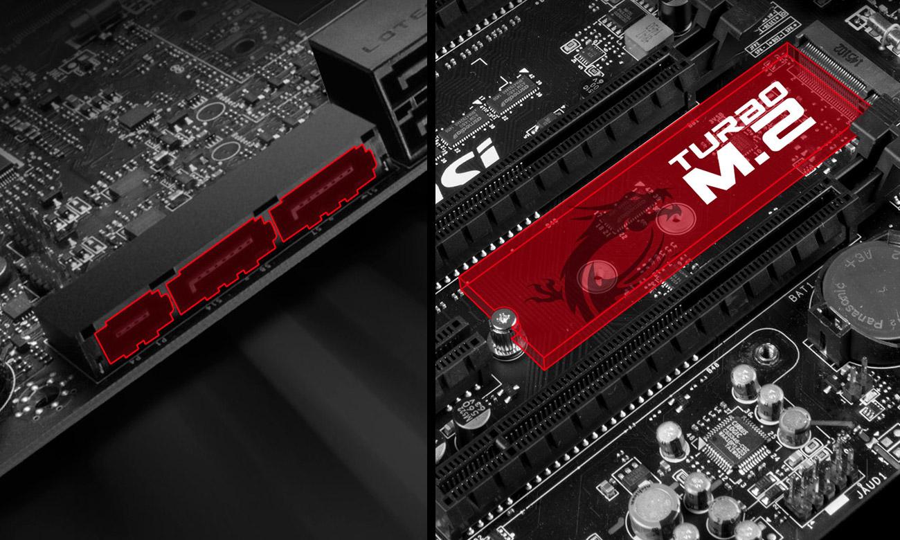 MSI Z170A KRAIT GAMING M.2 PCI Express Gen3 x4 SATA Express