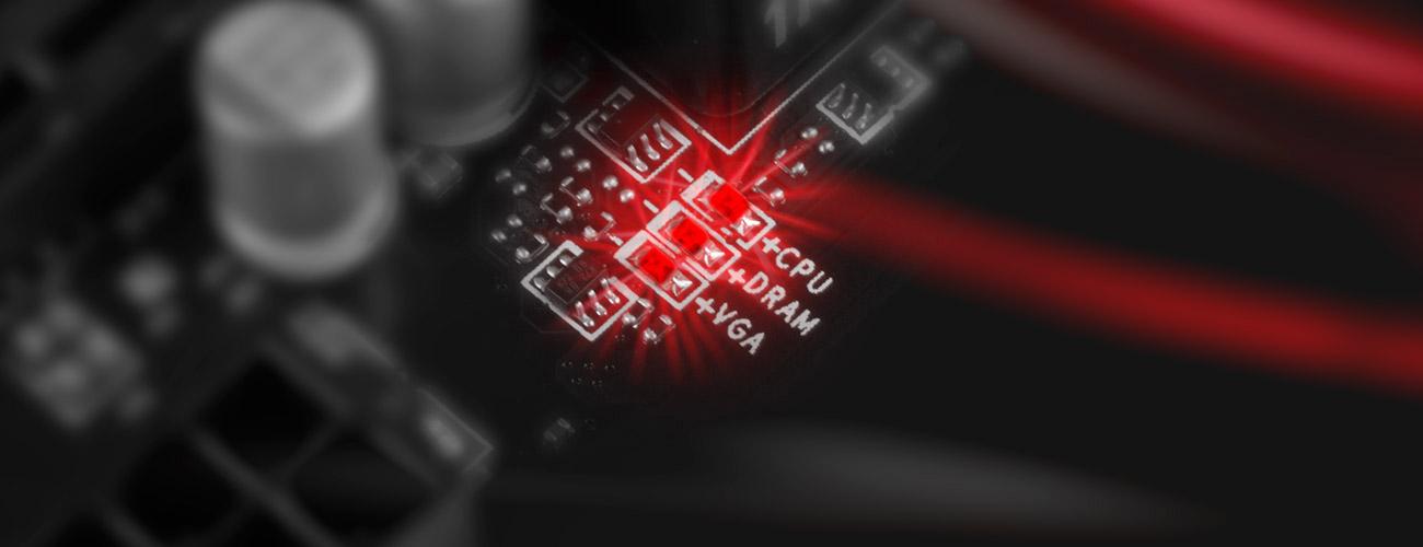 MSI Z170A KRAIT GAMING ochrona procesora przed przepięciami