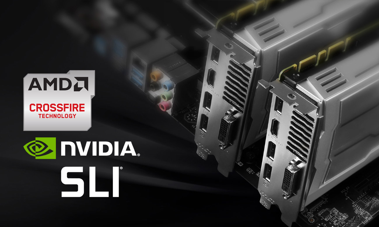 MSI Z170A SLI PLUS Wsparcie CrossFire nvidia sli