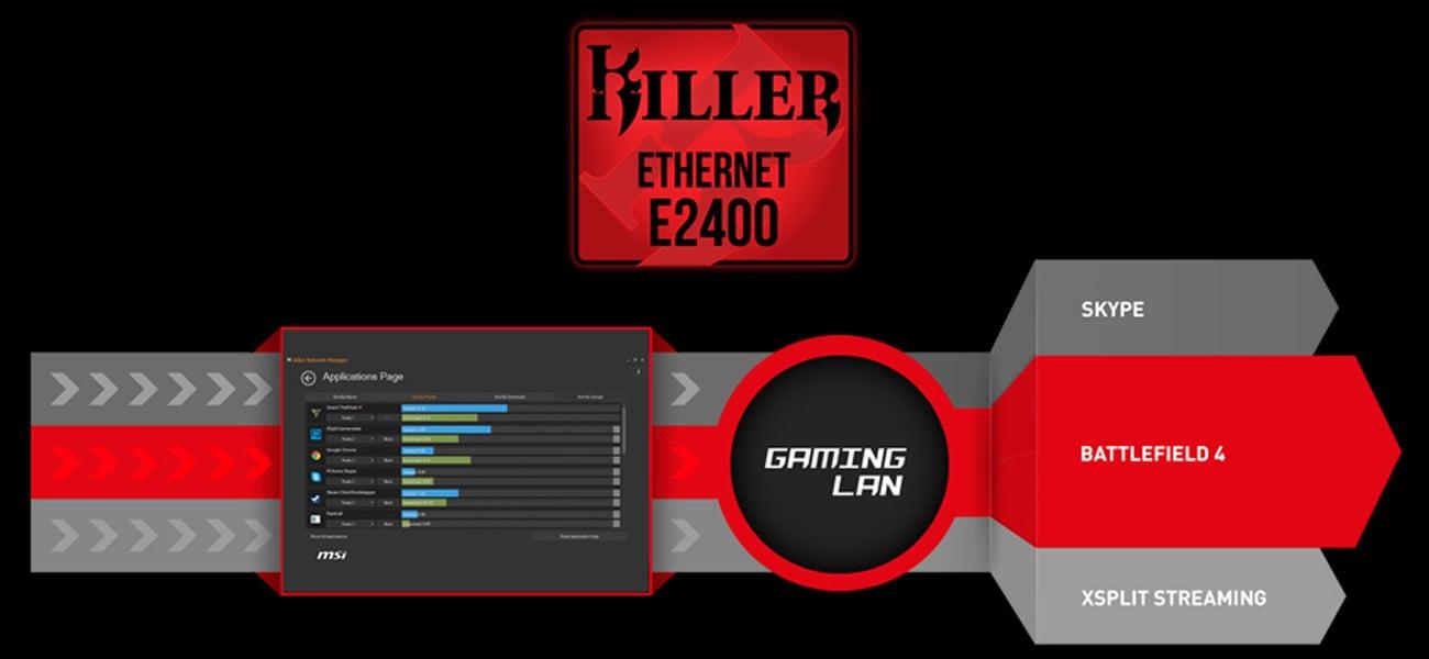 MSI Z170A GAMING M7 GAMING LAN Manager