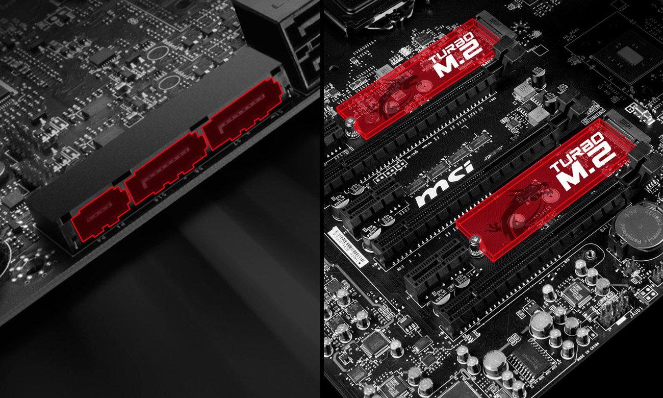 MSI Z170A GAMING M7 2xTurbo M.2 SATA Express