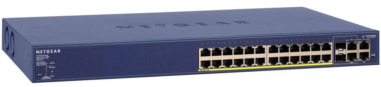 Switch Netgear 28p FS728TP-100EUS