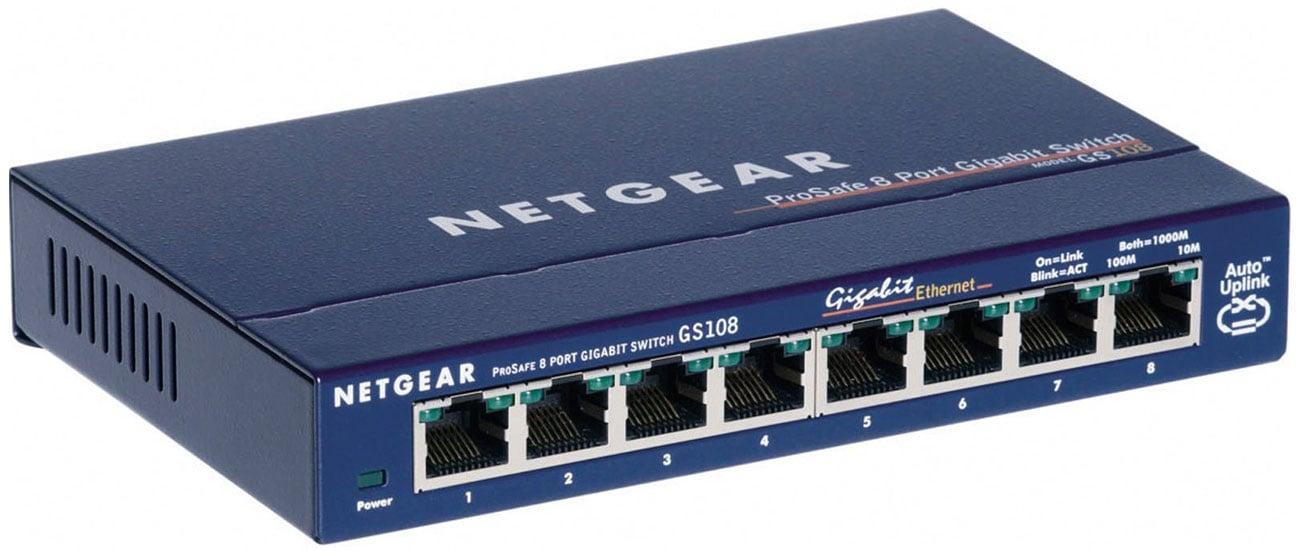Netgear 8p GS108GE