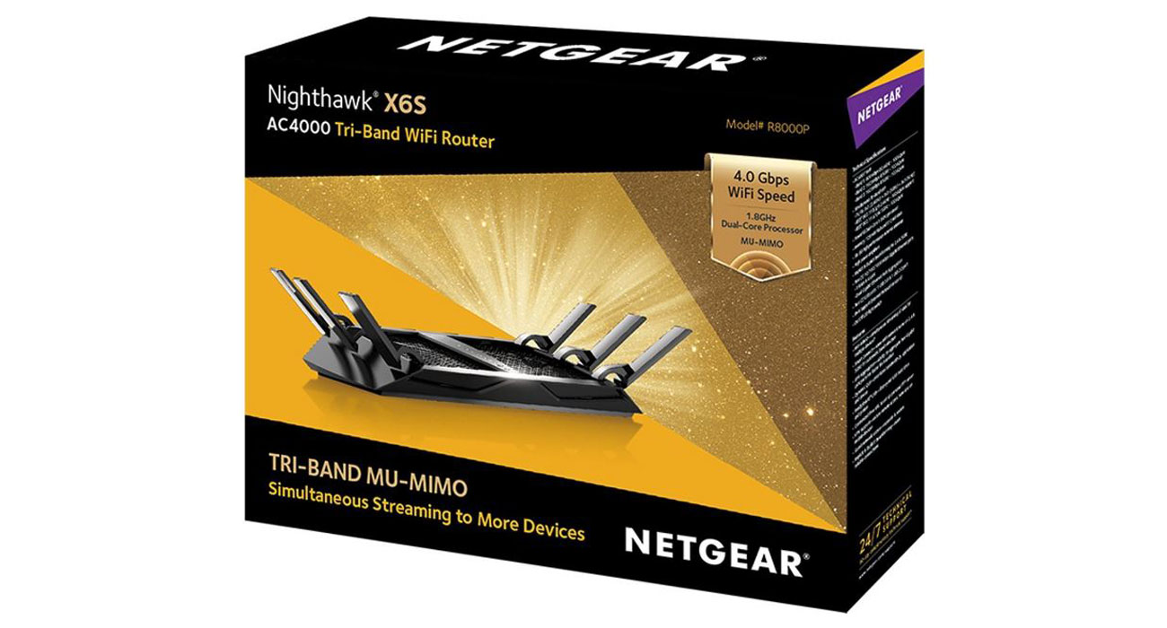 Netgear Nighthawk X6S R8000P Technologia MIMO