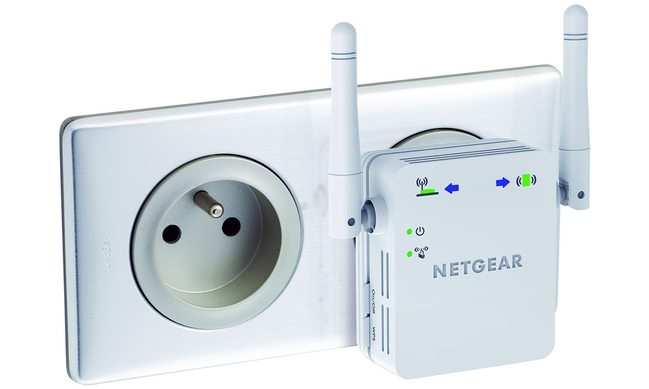 Access Point Netgear WN3000RP v2 (802.11b/g/n 300Mb/s LAN) repeater