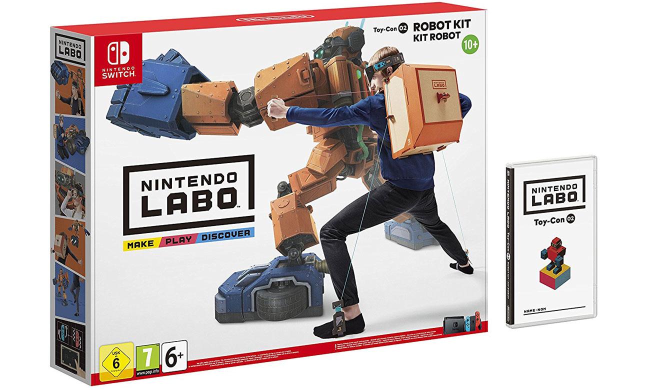 Zawartość zestawu Robot Kit