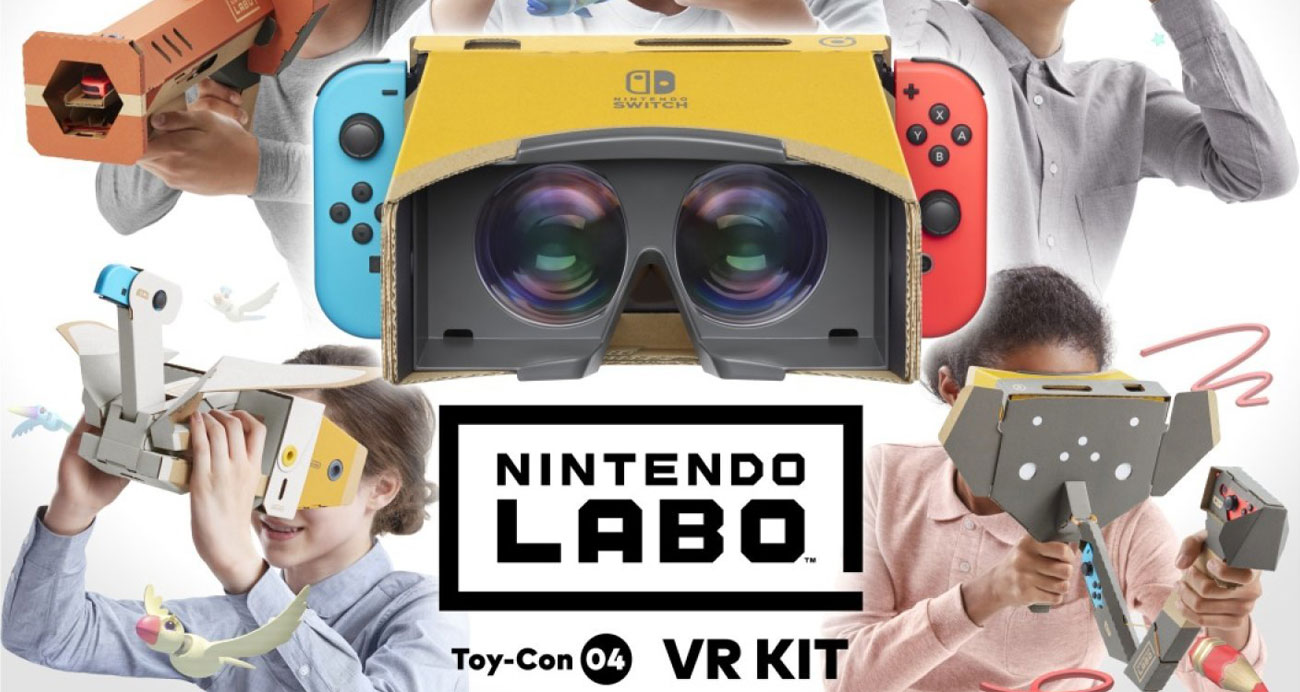 Zestaw Nintendo Labo: VR Kit