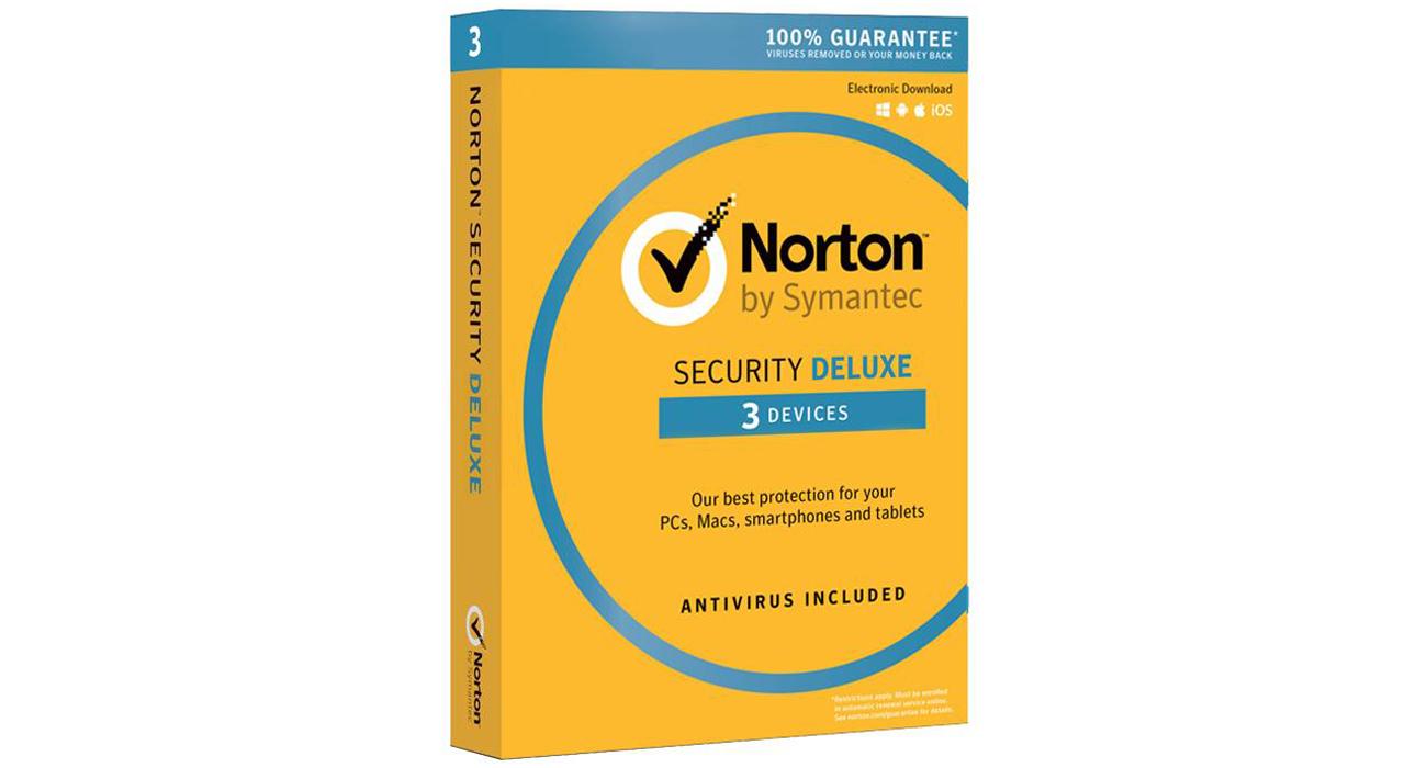 Symantec Norton Security Deluxe 3.0 Zabezpieczenia