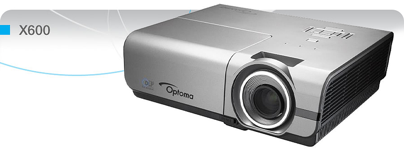 Optoma X600 DLP Idealny obraz