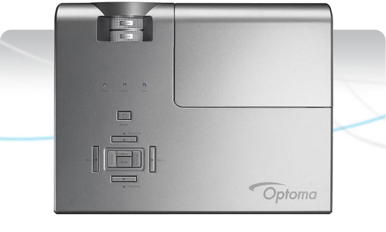 Optoma X600 DLP Pełne pokrycie palety barwnej