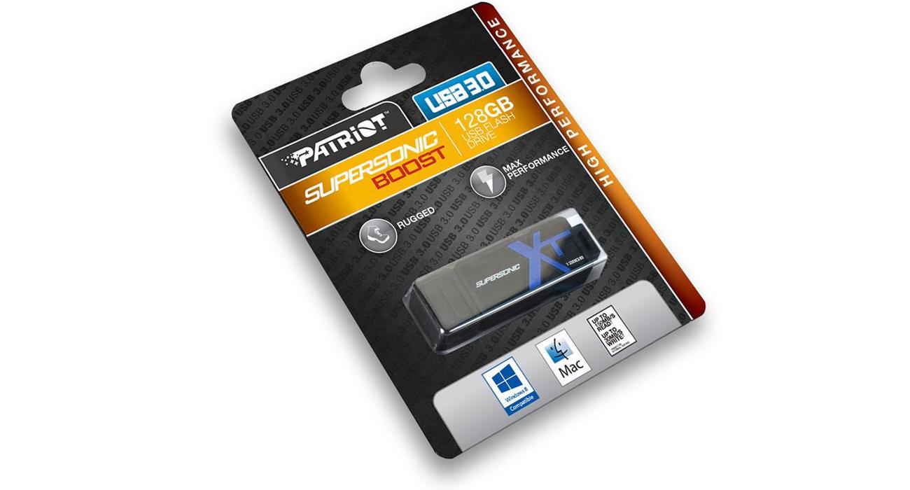 Pendrive Patriot Supersonic Boost XT USB 3.0 150MB/s Niezwykła wytrzymałość