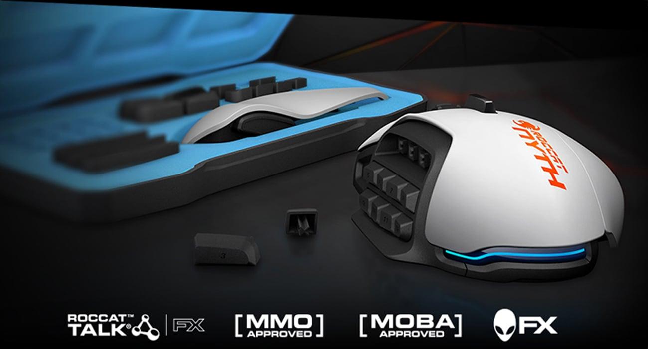 ROCCAT® NYTH Modułowa mysz dla graczy MMO