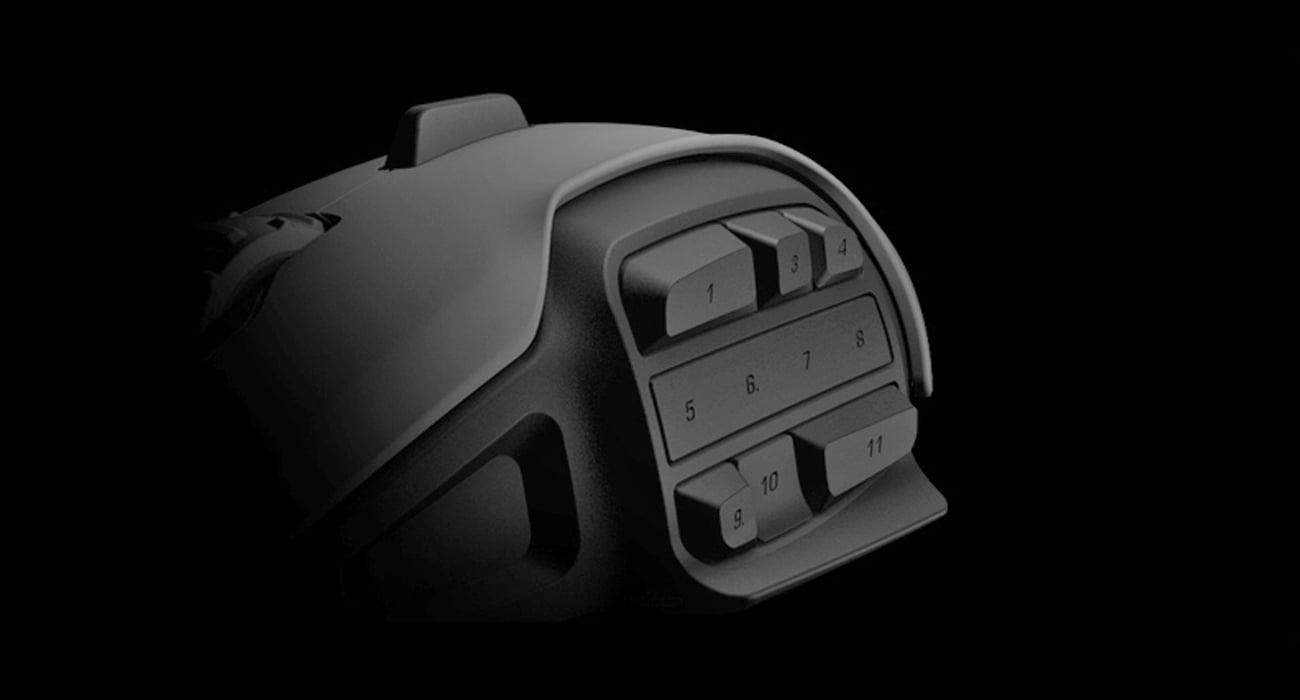 ROCCAT® NYTH Modułowa mysz dla graczy MMO - modułowa strefa kciuka