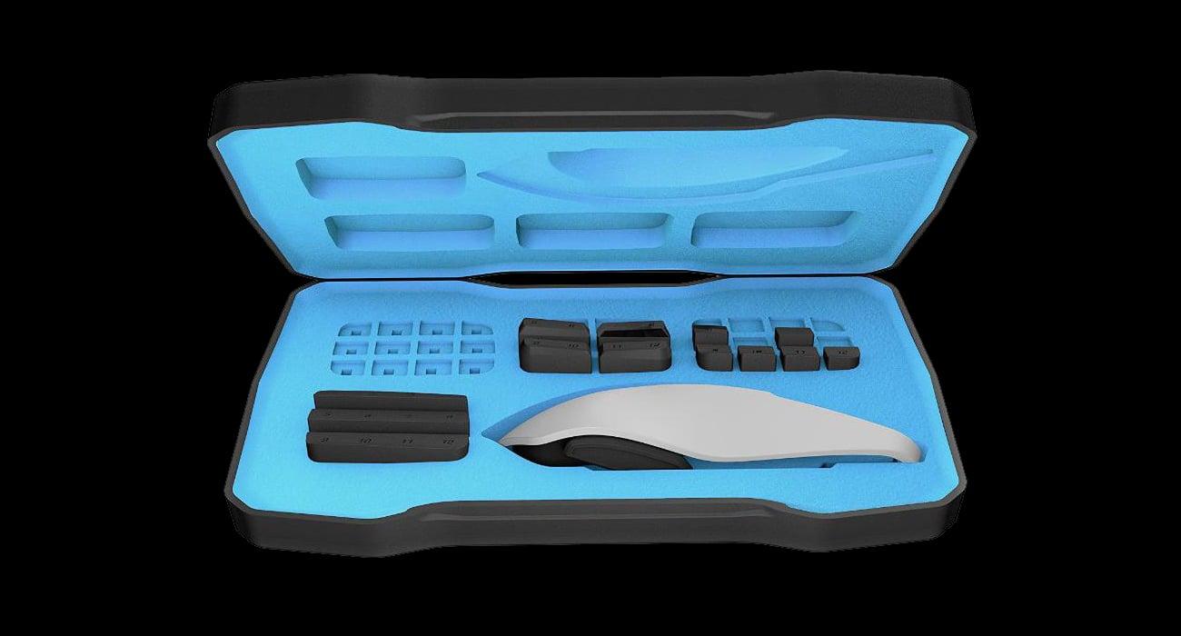 ROCCAT® NYTH Modułowa mysz dla graczy MMO - futerał