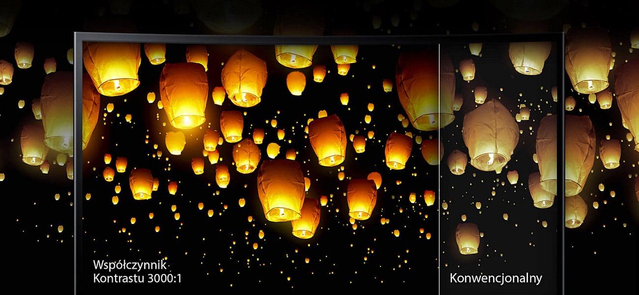 Samsung C27F390FHUX Curved Perfekcyjny obraz