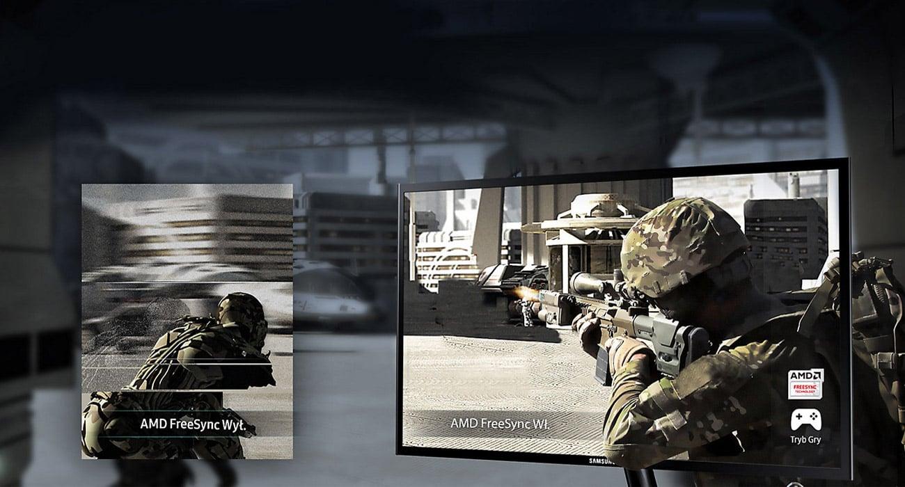 Samsung S24F356FHUX Technologia AMD FreeSync