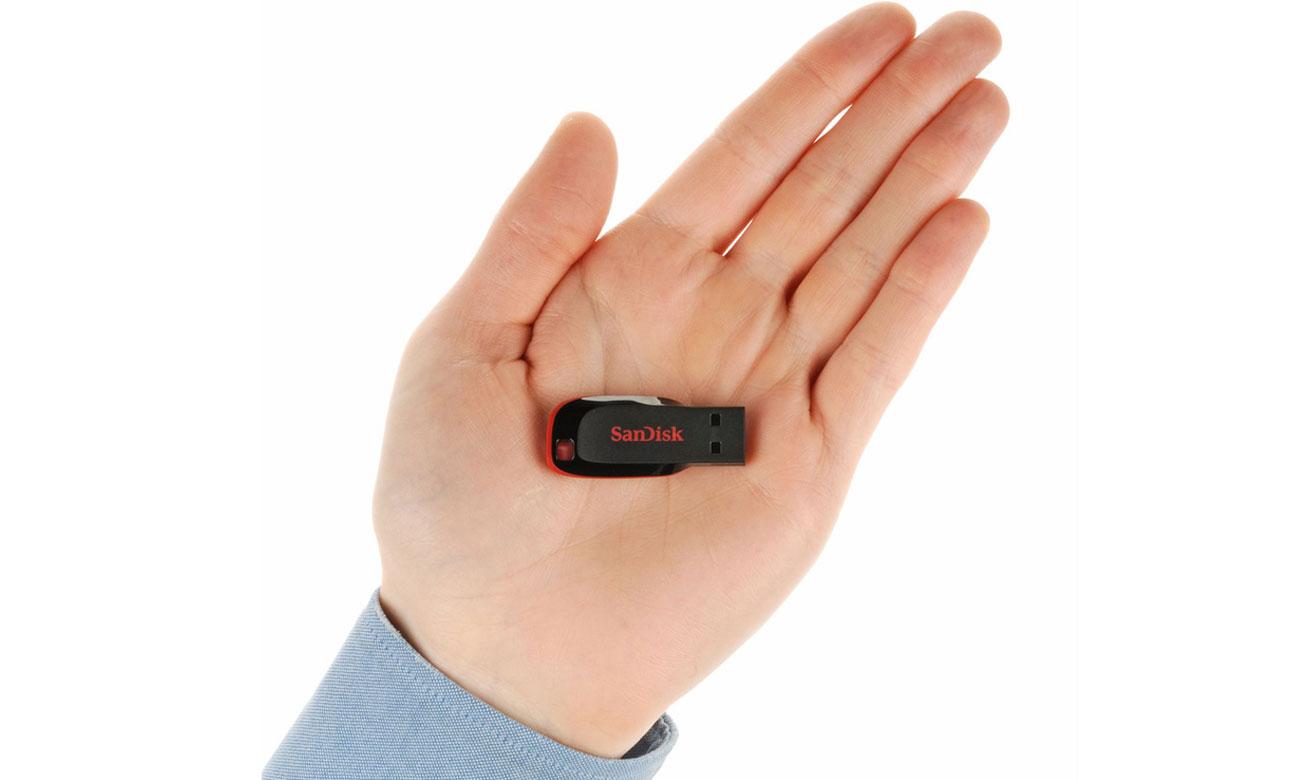 SanDisk 8GB Cruzer Blade Kompaktowy rozmiar