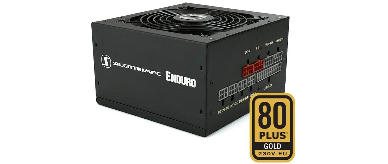 SilentiumPC 650W Enduro FM1 Gold niezawodność