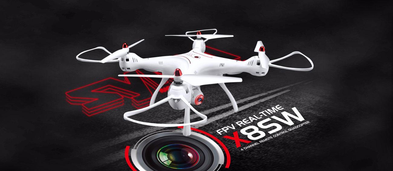 Dron Syma X8SW biały