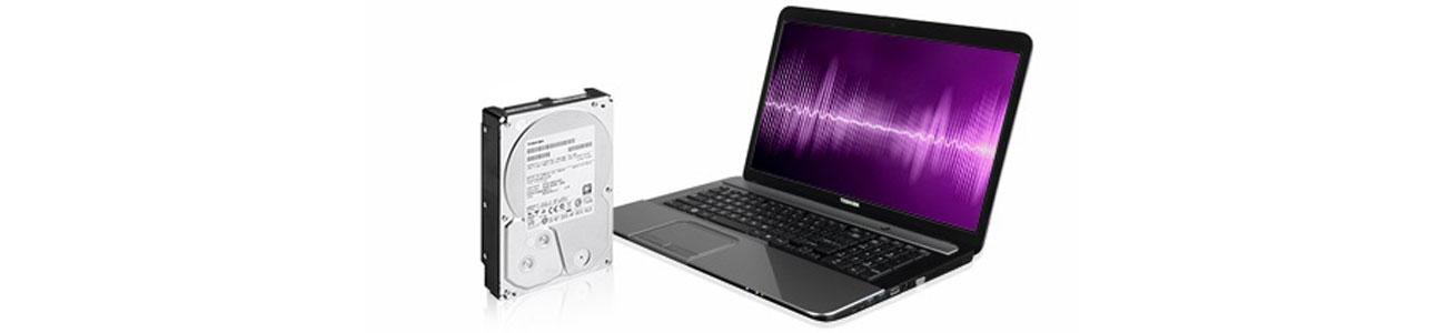 Dysk twardy HDD Toshiba bezgłośna praca