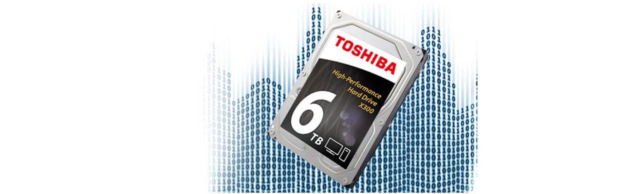 Dysk twardy HDD Toshiba X300 wydajność