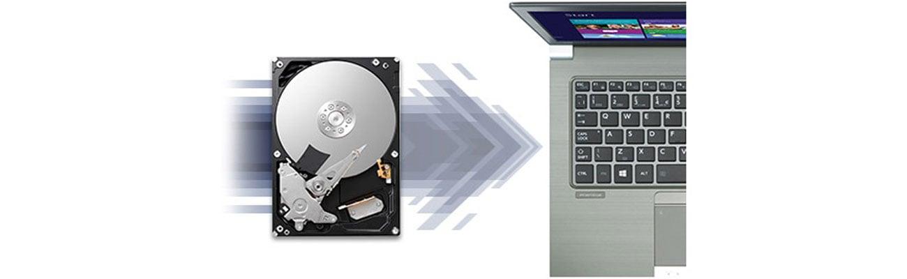 Dysk twardy HDD Toshiba X300 Ramp loading, bezpieczeństwo